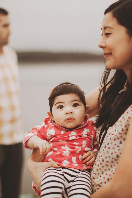 沙龙&凯尔 - 一个6个月大婴儿的家庭会议