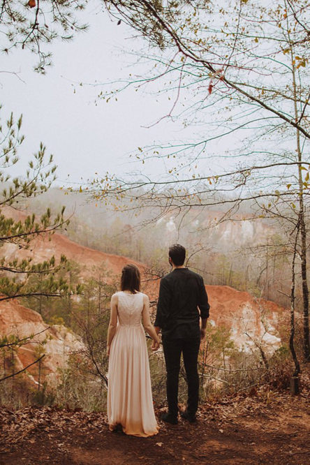 Providence Canyon State Park Elopement Pictures