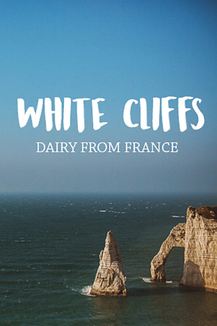 White Cliffs on the Coast of France