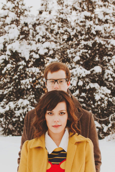 Sharing Inspiration – A Wes Anderson Inspired Engagement Session in Boise ID