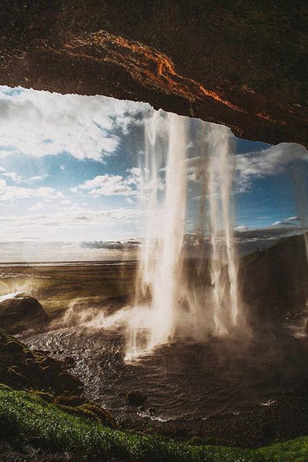 Sam Hurd in Iceland