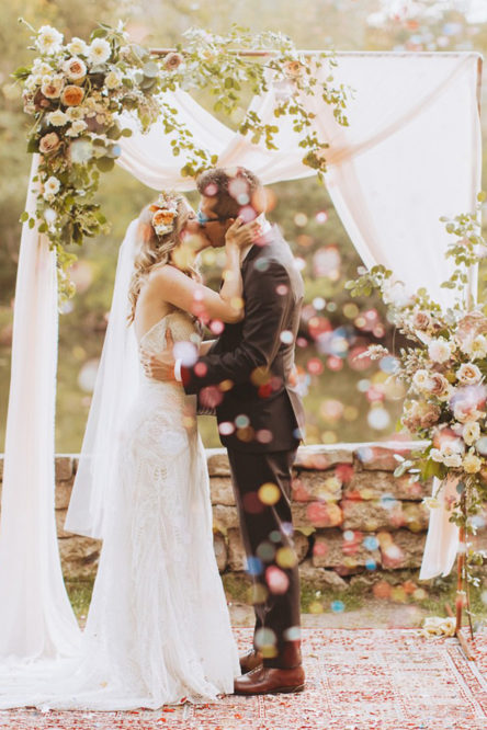 Scarlet and Anthony's Park Wedding