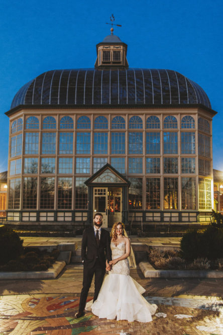Rawlings Conservatory Wedding Photos