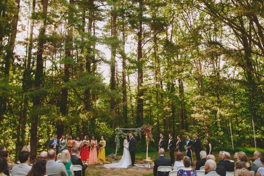 Mill No. 1 Wedding Reception and Backyard Ceremony